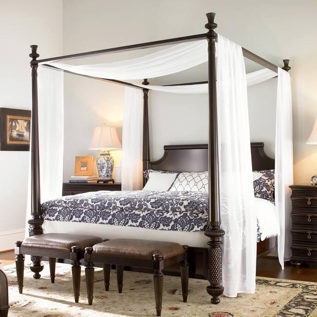 2015 Sezonu Cibinlikli Romantik Yatak Odaları
