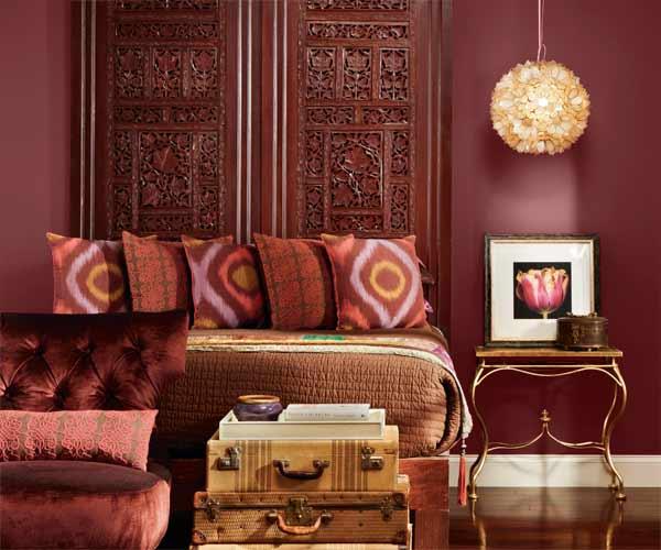 2015 Trendi Marsala Dekorasyon Örnekleri
