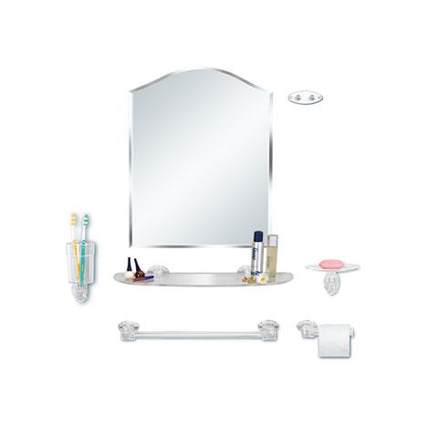7'li Papatya Akrilik Ayna Seti
