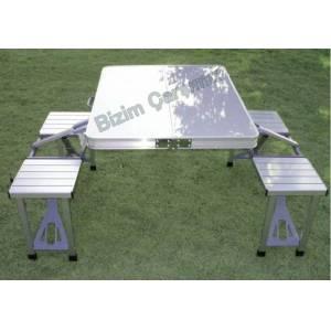 Alüminyum Katlanabilir Lüks Piknik Masası GittiGidiyor'da