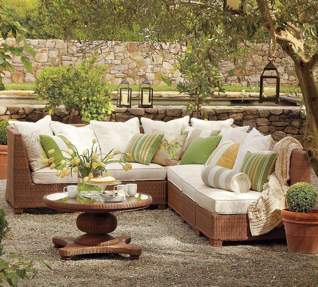 Bahçe Mobilyaları Dekorasyon