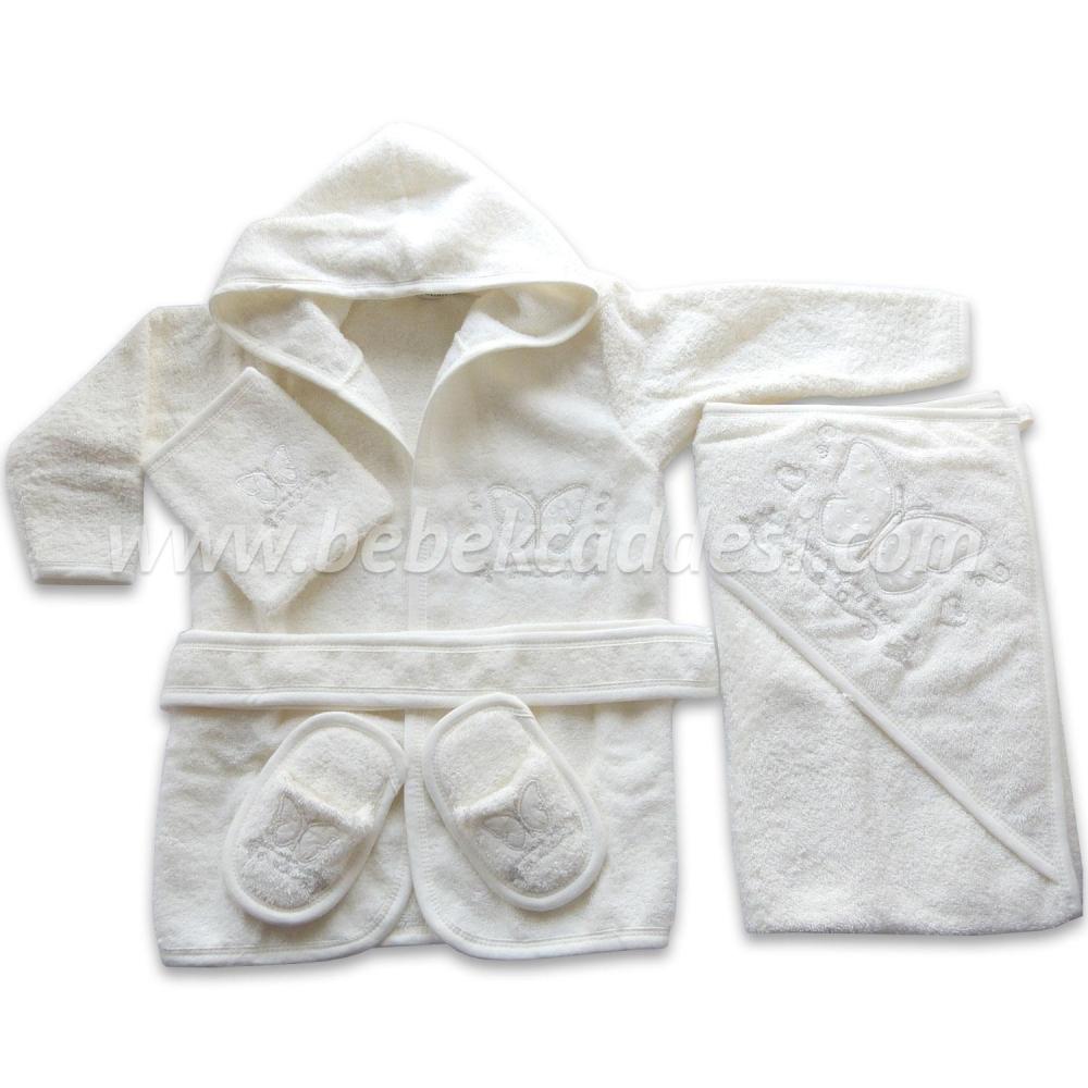 Bebek Havlu Bornoz Setleri