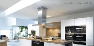 Beyaz ankastre mutfak modelleri