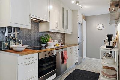 Beyaz Mutfak Dekorasyonu Örnekleri