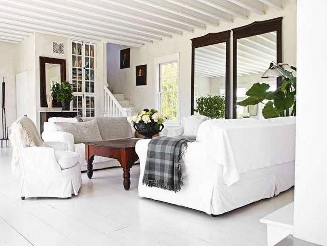 Beyaz Renk Ev Dekorasyonu, Beyaz Ev Dekorasyon Örnekleri