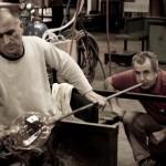 Cam üfleme sanatı Fotoğrafları