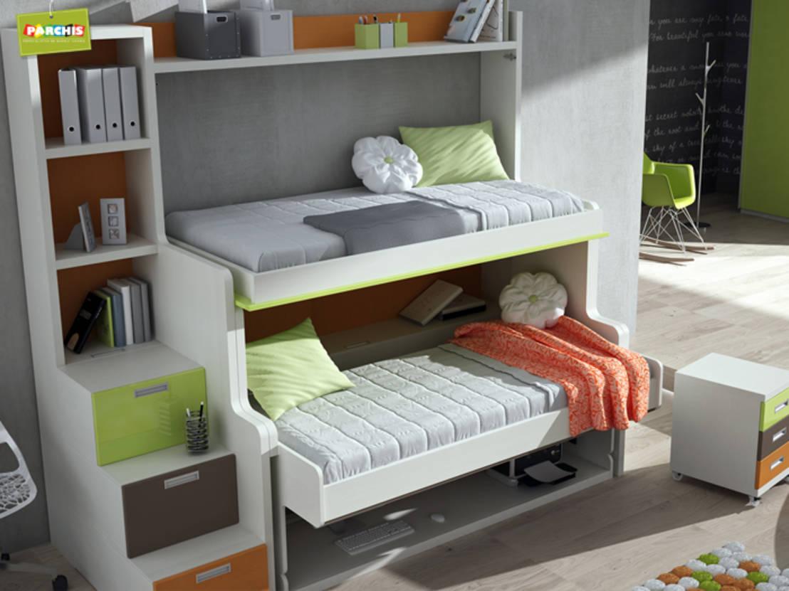 Kea duvara monte yatak leylara her ey burada - Muebles cama plegables para salon ...