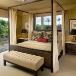 cibinlikli yatak odasi dekorasyonu