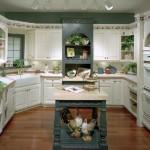 country tarzi yeni mutfak modelleri