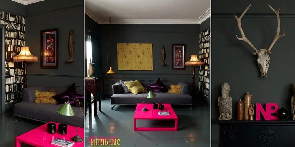 Dekorasyonda Neon Renk Kullanımı