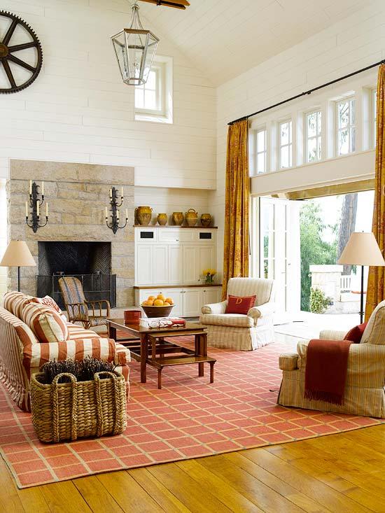 Dekorasyonda Sonbahar Renkleri ve Kombinleri 2015 | Ev Dekorasyonu