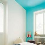 Dekorasyonda yeni trend; Duvar tavan aynı renk