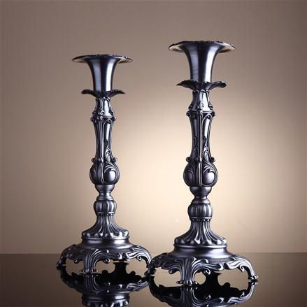 Dekoratif Ayaklı Şamdan ve Mumluk Modelleri (12)