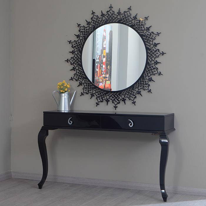 Dekoratif Konsol ve Ayna Kombinleri (24)
