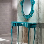 Dekoratif Konsol ve Ayna Kombinleri (9)