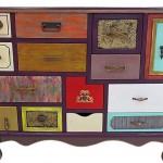 dekoratif patchwork konsol modeli 2015