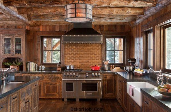DekorHobi » En Güzel 10 Rustik Mutfak Tasarımı