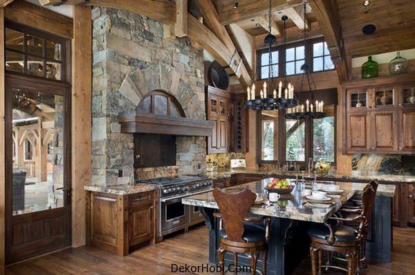 DekorHobi » En Güzel 10 Rustik Mutfak Tasarımı 9