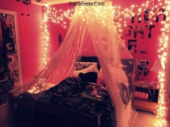 DekorHobi » Yatak Odası İçin Romantik Aydınlatma Fikirleri