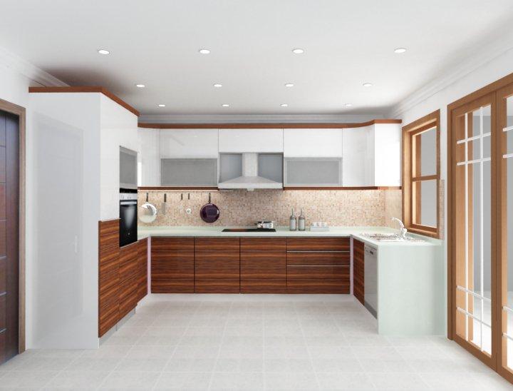 Derz Mobilya Dekorasyon BURSA Modüler Mutfak, Cami Ahşap