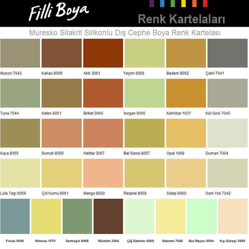 Dış Cephe Filli Boya Renkleri › Modelleri Fiyatları 2015
