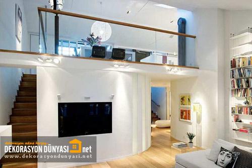 Dubleks Ev Dekorasyonu Bilgileri 2012