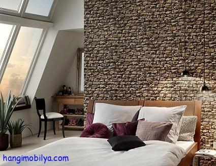 Duvarlarınızı Boyamaktan Kurtulun : Duvar Kağıtları