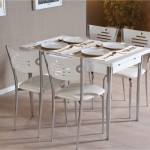 Ecrin Beyaz Mutfak Masası
