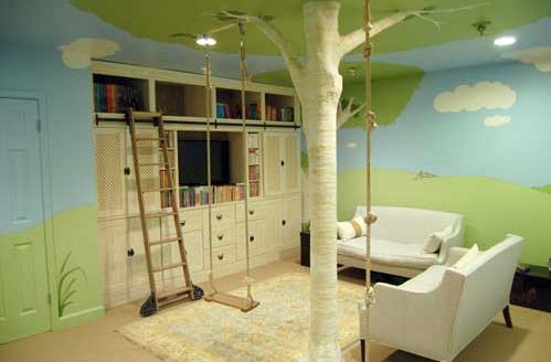 Eğlenceli çocuk odası tasarımları hakkında fikirler
