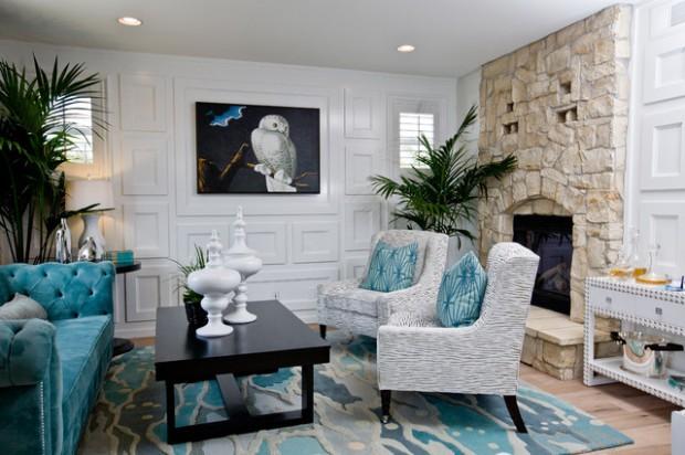 En Güzel Ev Dekorasyonu: Turkuaz Renkli Ev Eşyaları