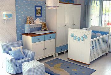 Erkek Bebeği Oda Dekorasyonu
