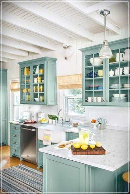 yeni trend koy mutfaklari country rustik tarz dekorasyon fikirleri