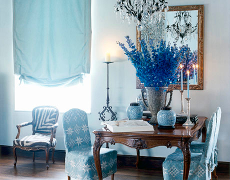 Ev Dekorasyon Fikirleri » Blog Archive » Mavi Oturma Odası