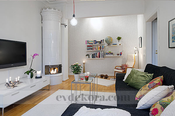 Ev Dekorasyonları: Neşeli, rahat bir ev tasarımı