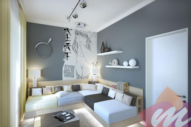 Ev Dekorasyonu, İki farklı ev dekorasyonu.