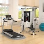 Evlerde Yapılan Fitness Salonu (Ev Tipi Spor Salonları