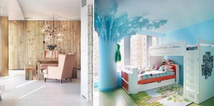 Farklı İlhamla Ev dekorasyonu