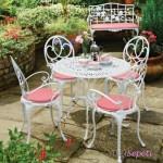 Ferforje Bahçe, Balkon Masası ve Sandalye Modelleri