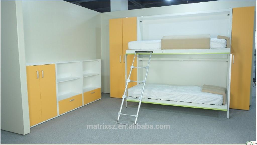 Fonksiyonel ranza, duvara monte yatak, duvar katlanır yatak