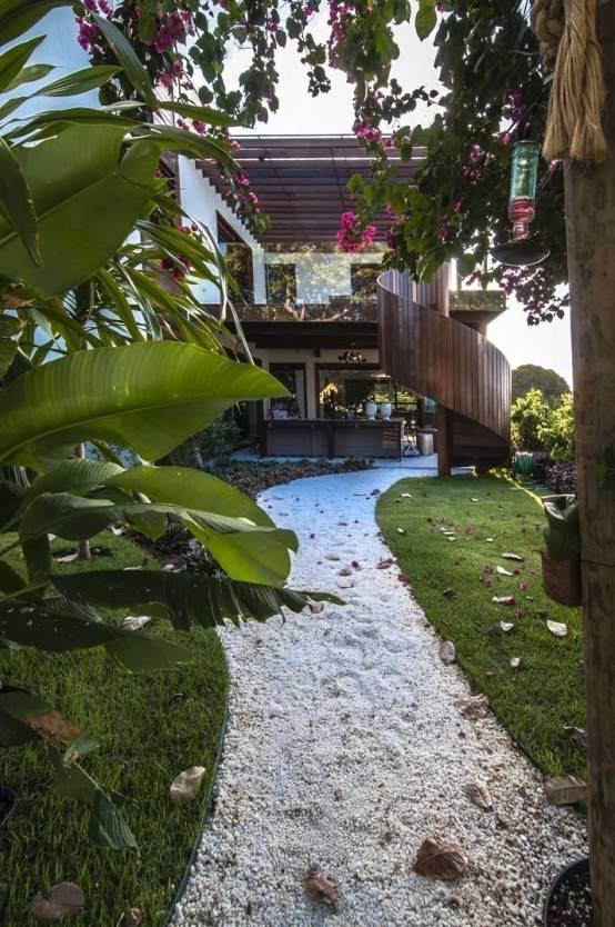 Göz alıcı bahçe dekorasyon örnekleri