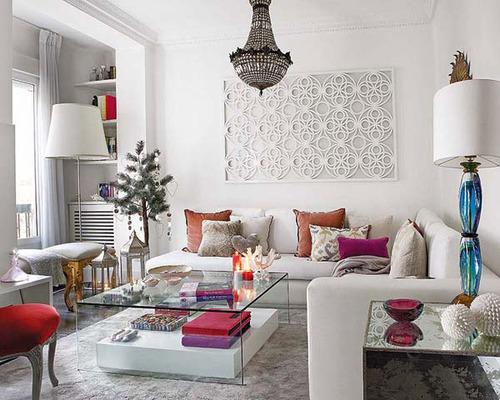 gümüş ve beyaz dekorasyon şekilleri (2) › Evim Şahane Ev