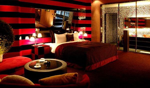 Haberler » Kırmızı Yatak Odası Dekorasyonu