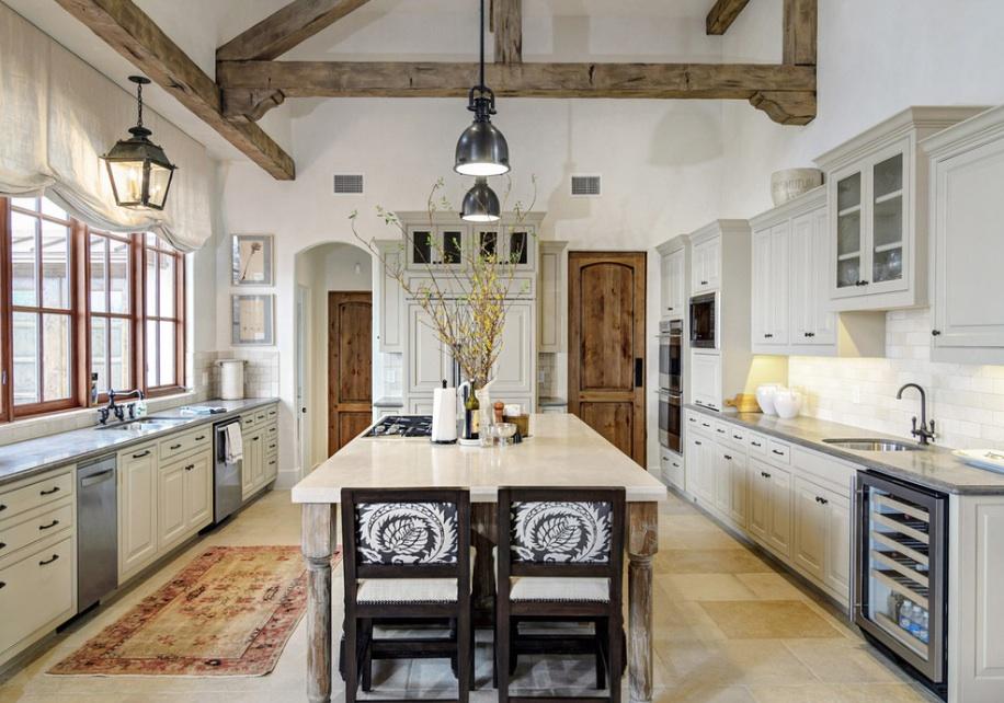 İçinizi Isıtacak 12 Rustik Mutfak Tasarımı