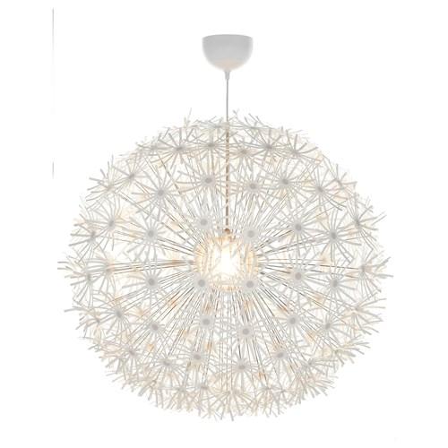 IKEA PS MASKROS sarkıt lamba, beyaz, 80 cm