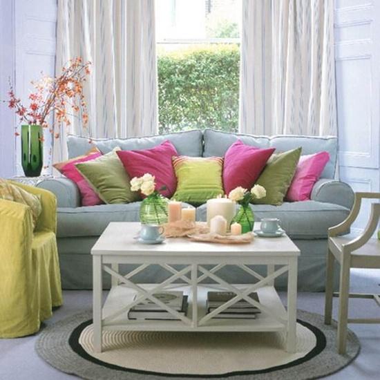 İlkbaharın en güzel tonları ile evinizi renklendirin