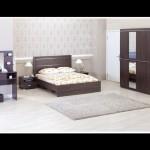 kilim mobilya lake kahverengi yatak odası