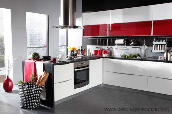 Köşeli Mutfak Dolabı Modelleri