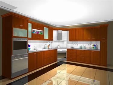 köşeli mutfak modelleri