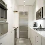 Küçük Mutfaklar İçin Beyaz Mutfak Dolabı Modelleri