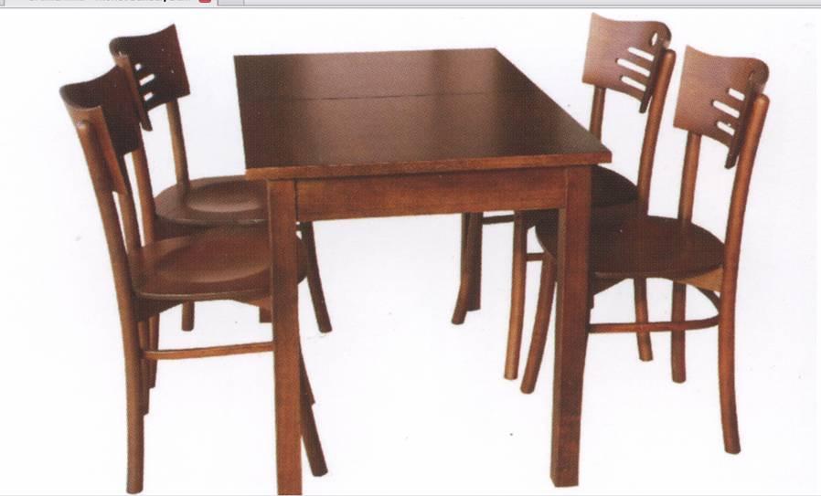 Lokanta sandalye masa
